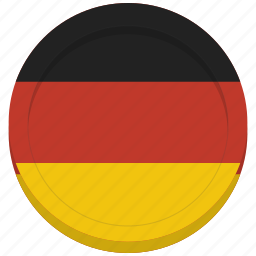 country, flag, german, germany icon