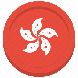 country, flag, hong kong, national icon
