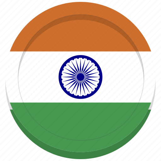 country, flag, india, indian icon