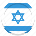 country, flag, israel, israeli icon
