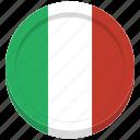 flag, italy, country, italian