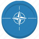 flag, nato, organization, world icon