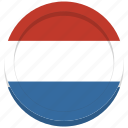 country, dutch, flag, holland, netherlands icon