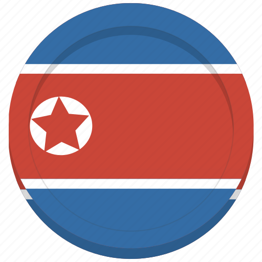 country, flag, korea, korean, north icon