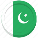 country, flag, pakistan, pakistani icon