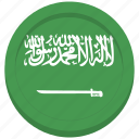arabia, arabian, flag, saudi icon
