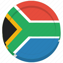 africa, country, flag, south icon