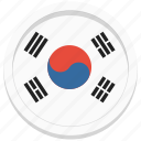 country, korea, korean, south icon