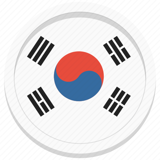 country, korea, korean, south icon