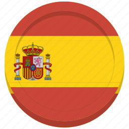 country, flag, spain, spanish icon