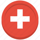 country, flag, swiss, switzerland icon