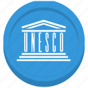 emblem, flag, global, unesco icon