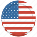 america, flag, states, united, usa icon