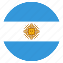argentanian, argentina, country, flag, national icon