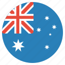 australia, flag, aussie, australian