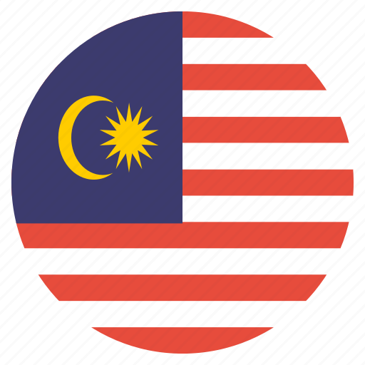 country, flag, malaysia, malaysian, national icon