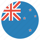 country, flag, kiwis, national, new zealand icon
