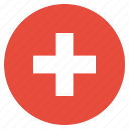 country, flag, national, swiss, switzerland icon
