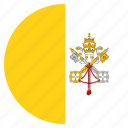 country, flag, national, vatican icon