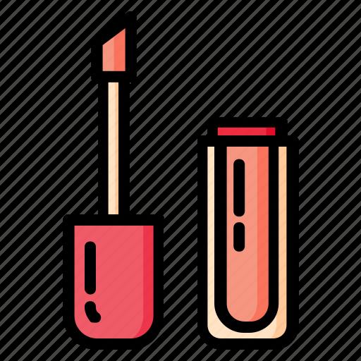 beauty, cosmetics, lipstick, liptint, makeup, skincare, woman icon