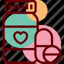 minerals, pills, supplements, vitamins, bottle, proteins