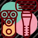 electric, razor, shaver, trimmer, barber, safety, tool