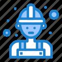 carpenter, labour, man, worker icon