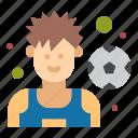 football, player, soccer