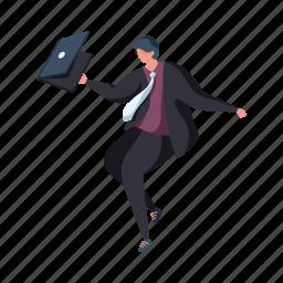 character, builder, man, computer, business, suit, laptop