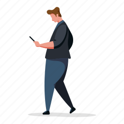 character, builder, man, smartphone, phone, electronic, device