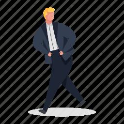 character, builder, man, suit, business