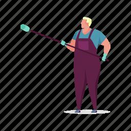 occupation, character, builder, man, painter, maintenance, construction