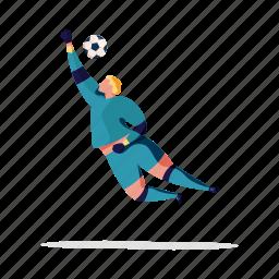 sports, character, builder, soccer, goal, keeper, man, sport, game