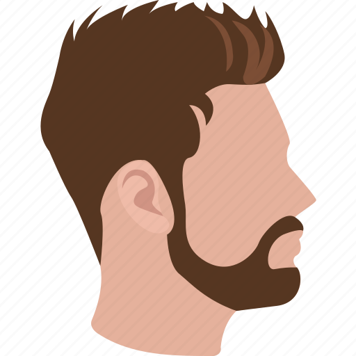 Hairstyle, short sleek, haircut, mens, hair, male, hairdressing icon - Download