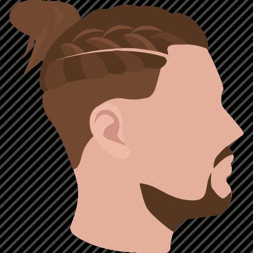 braid, bun, cornrows, fashion, hair, hipster, mens icon