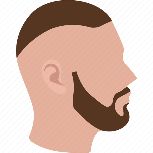 cut, fade, hair, hairstyle, high, military, short icon