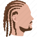 dreads, dreadlocks, braids, hair, hairstyles, cornrows, braided