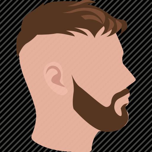 cut, hair, high fade, male, men, salon, short icon