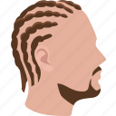 hairstyle, short, braids, hair, mens, cornrows, braided