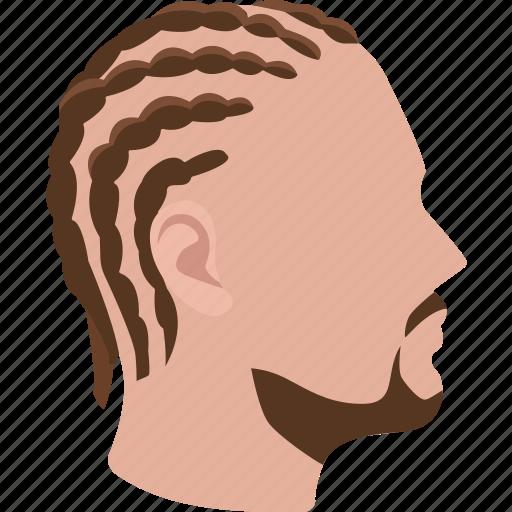 braided, braids, cornrows, hair, hairstyle, mens, short icon