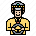 driver, job, service, taxi, transportation icon