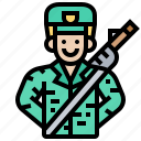 army, man, military, navy, soldier icon