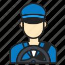 avatar, driver, man, profession