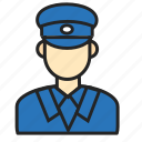 avatar, male, police, profession