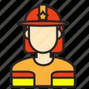 avatar, fireman, man, profession