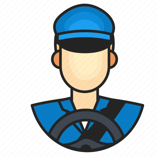 Avatar, driver, profession icon - Download on Iconfinder