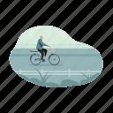 transportation, bike, bicycle, transport, man