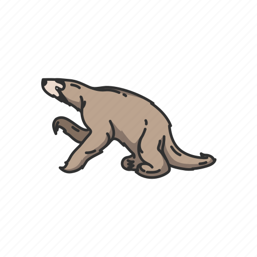 Animals, hapalops, mammal, marine sloth, sloth, two-toed sloth icon - Download on Iconfinder