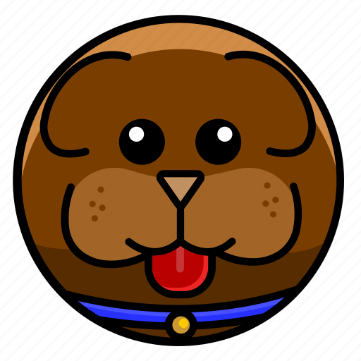 animal, cute, dog, mammal, pet, puppy, zoo icon