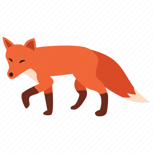 animal, carnivore, fox, pest, red, sly, wild icon